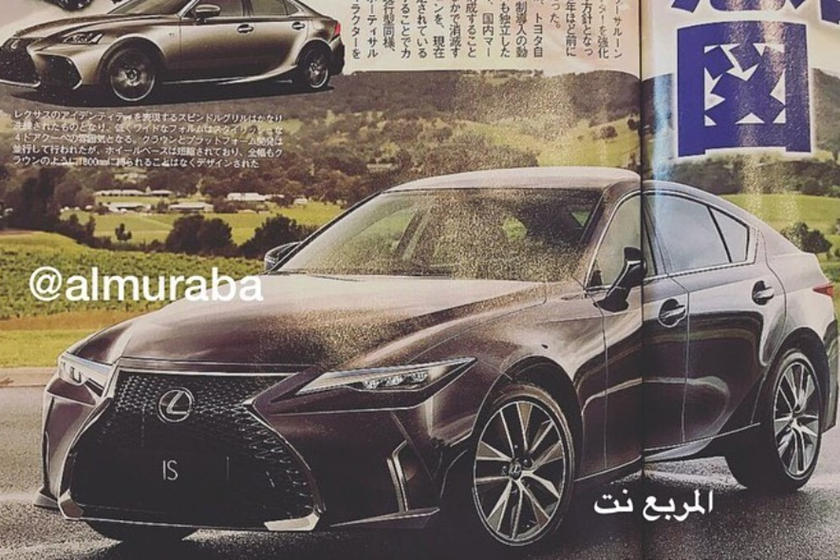 Is This The 2021 Lexus Is Way Before You Re Supposed To See It