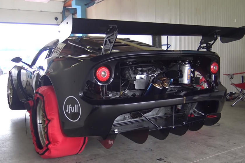 Someone Turned This Lotus Exige Into An Extreme 500-HP Track