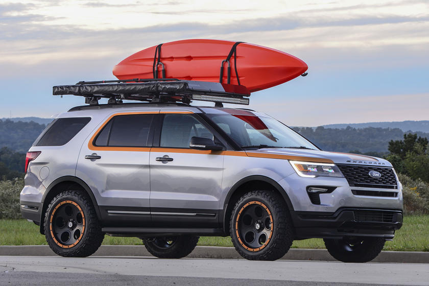 Ford Explorer Customized By Pediatric Cancer Patients | CarBuzz