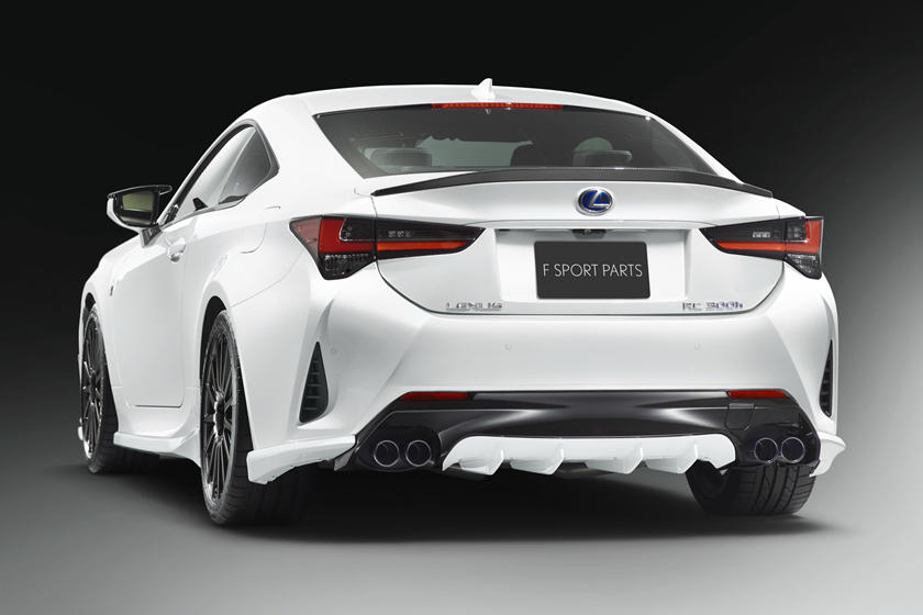 TRD Japan Gives Lexus RC More F Sport | CarBuzz