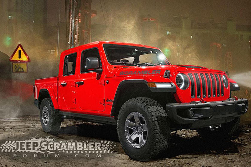 Leaked Jeep Scrambler Pickup Truck Will Be Called Gladiator Carbuzz