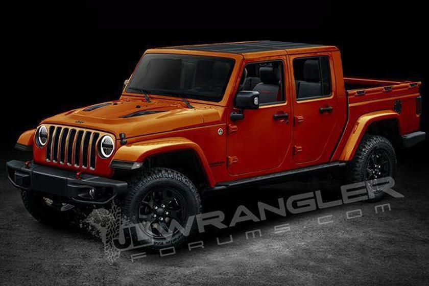 New Jeep Scrambler >> Leaked Jeep Scrambler Pickup Truck Will Be Called Gladiator Carbuzz