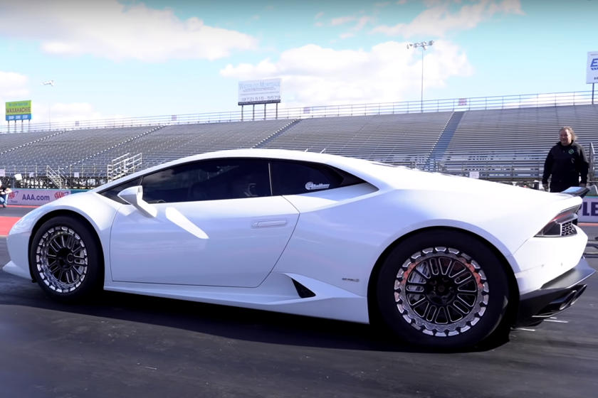 Watch A 2000-HP Lamborghini Huracan Smash The Quarter-Mile