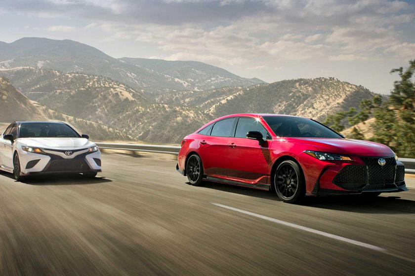 Toyota Camry And Avalon TRD Give Sedans A Sporty Flavor