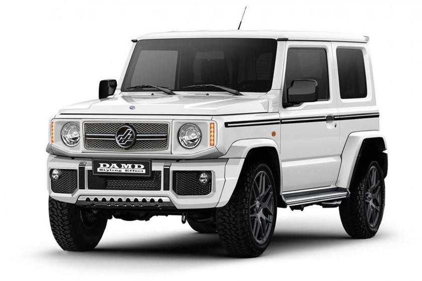 The Cheapest New Mercedes G Class You Can Buy Is Really A Suzuki