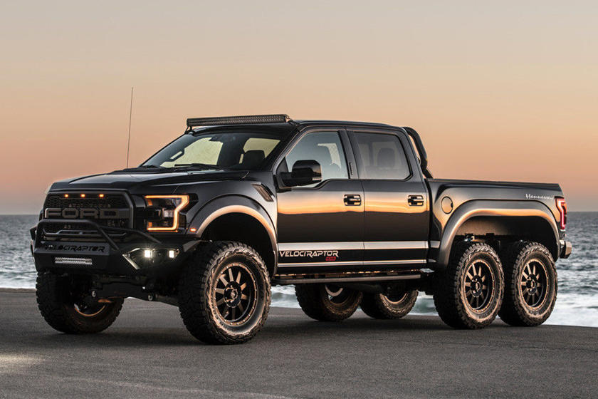 Super Rare Ford Hennessey Velociraptor 6x6 Up For Sale Carbuzz
