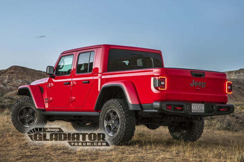 Jeep Gladiator 6x6 Would Be The Ultimate Pickup | CarBuzz