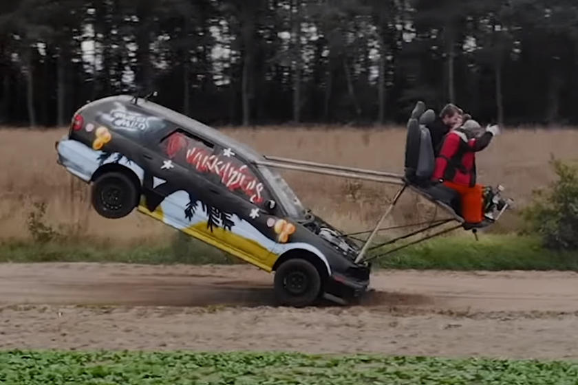 Crazy Dutch Dude Builds Volvo With Outboard Seats | CarBuzz
