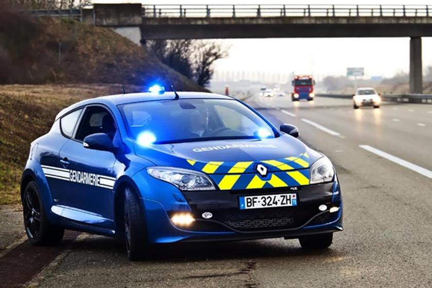 Renault Megane Rs Police Car Carbuzz