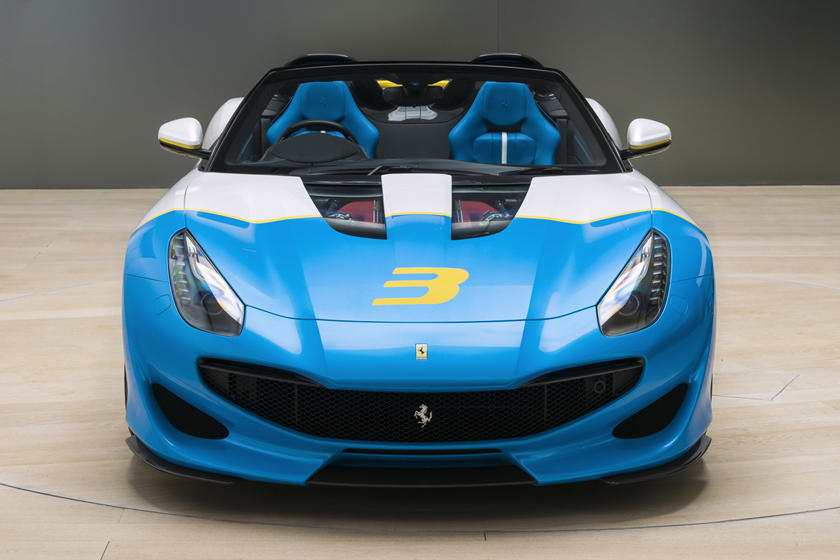 The Ferrari Sp3jc Is Actually Based On Old F12 Tdf Carbuzz