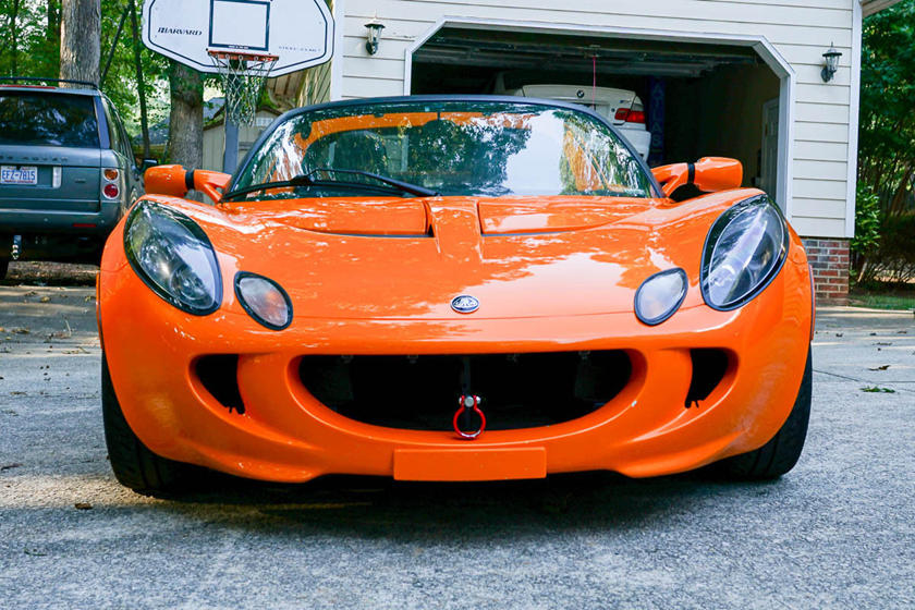 This 2005 Lotus Elise Has A 330 HP Acura Integra Type-S