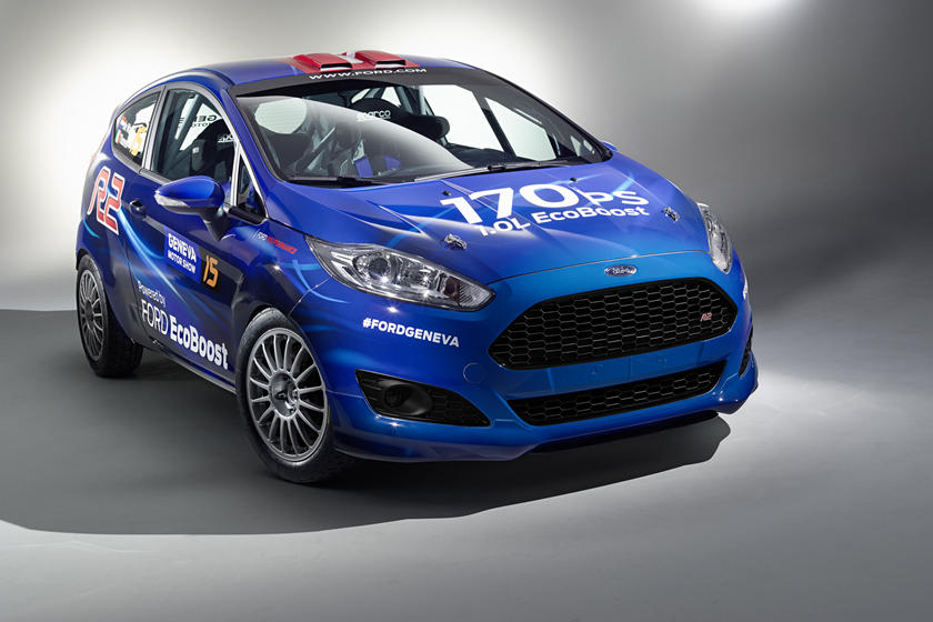 New Ford Fiesta R2 Is Perfect For Aspiring Rally Drivers Carbuzz