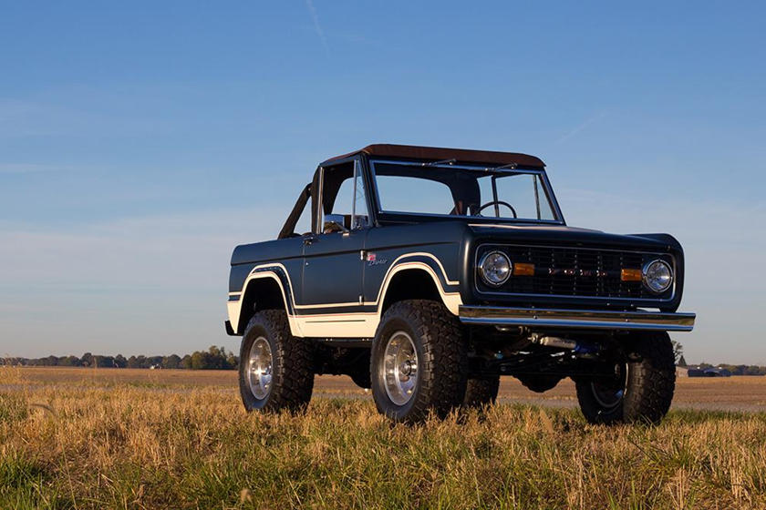 You Can Now Order A Brand-New First-Generation Ford Bronco ...