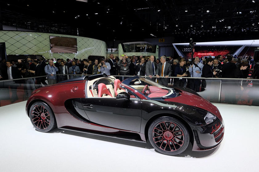 Bugatti Veyron Replacement Parts Are More Expensive Than You