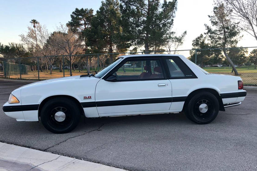 Weekly Craigslist Hidden Treasure: 1989 Ford Mustang SSP Cop