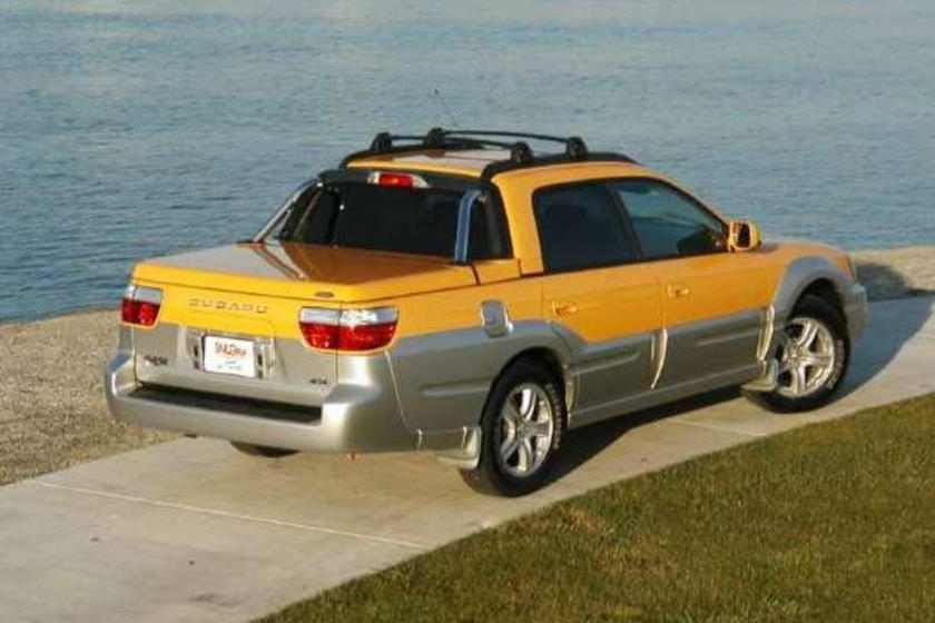 The Subaru Baja Is The Turbocharged Mini Truck In A League Of Its