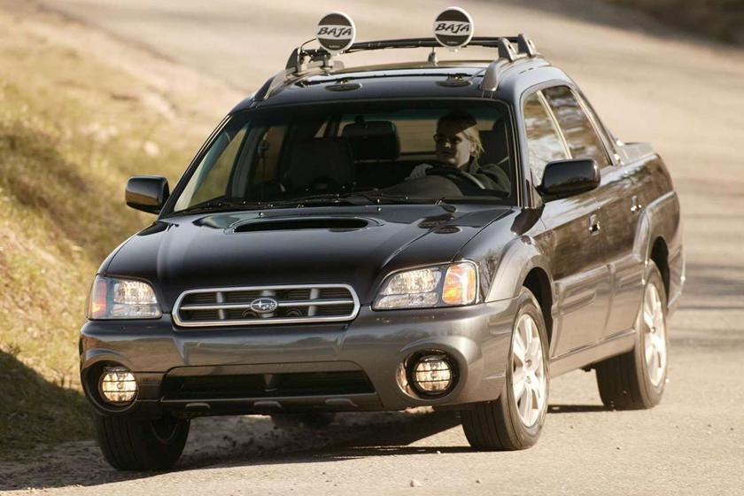 The Subaru Baja Is The Turbocharged Mini Truck In A League Of Its