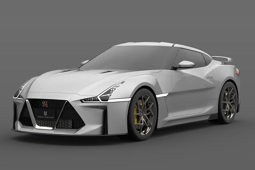 What If The New 2021 Nissan GT-R Looked Like This?   CarBuzz