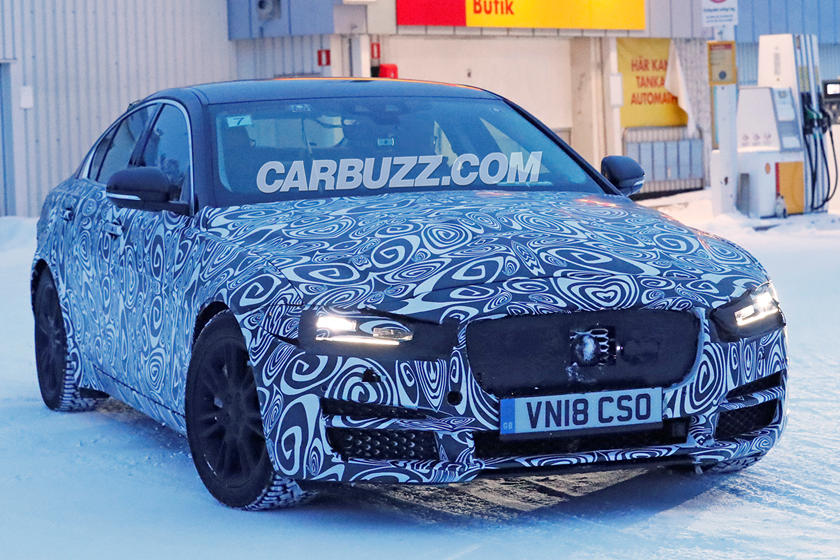 Jaguar Xe Facelift Prepares To Battle New Bmw 3 Series Carbuzz