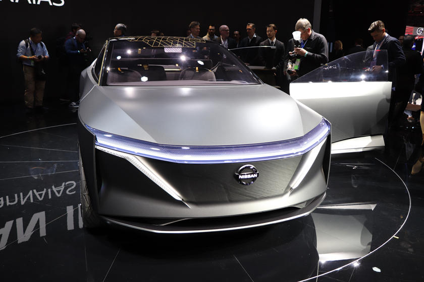 Nissan IMs Concept Electrifies Detroit | CarBuzz