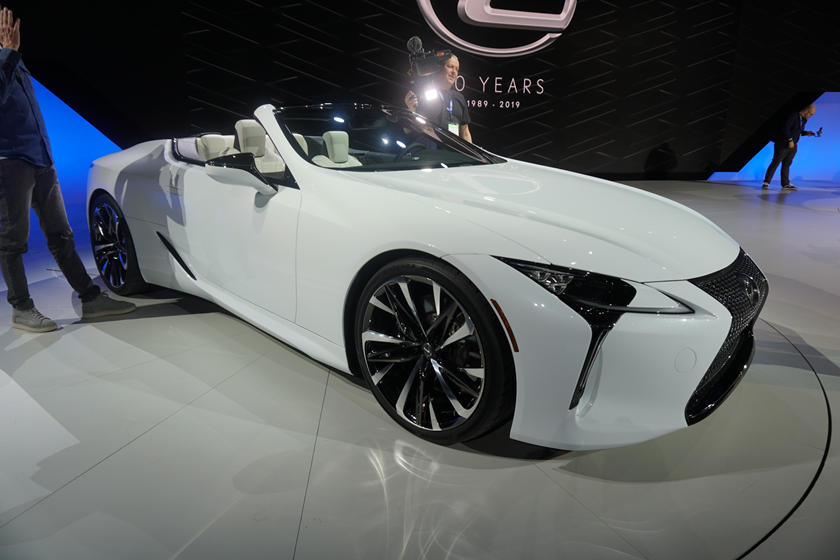 Lexus Lc Convertible Concept Is Simply Stunning In The Metal