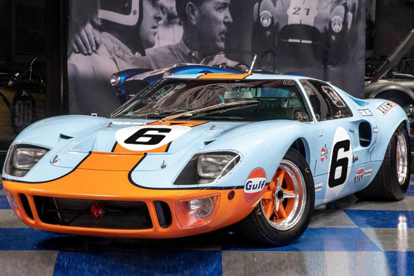 Buy And Race An Exact 1969 Ford Gt40 Replica Carbuzzrhcarbuzz: Ford Gt40 Vin Number Location At Gmaili.net