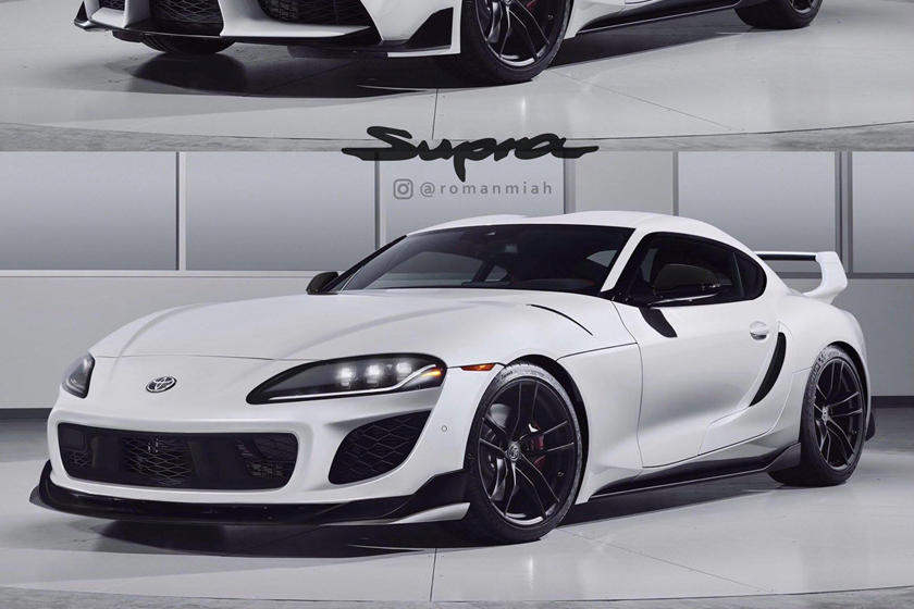 Is This What The New Toyota Supra Should Have Looked Like