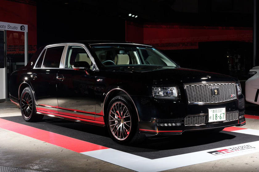 Turns Out There's More Than One Toyota Century GRMN   CarBuzz