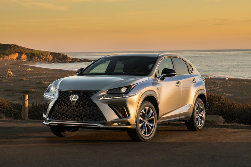 Lexus Tries To Keep NX Fresh With Black Line Special Edition   CarBuzz
