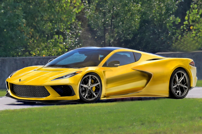 This Is The Logo For The 2020 Corvette C8 Carbuzz