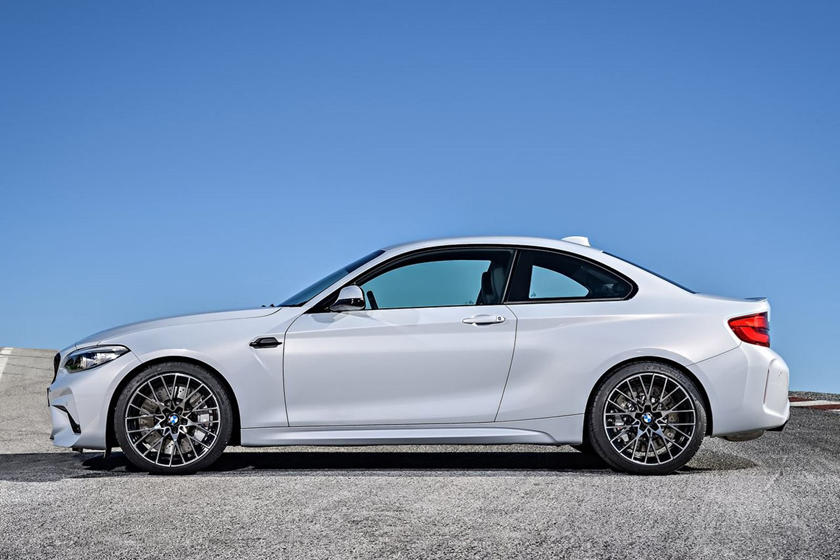 The BMW M2 Competition Isn't Much Faster Than The Base M2