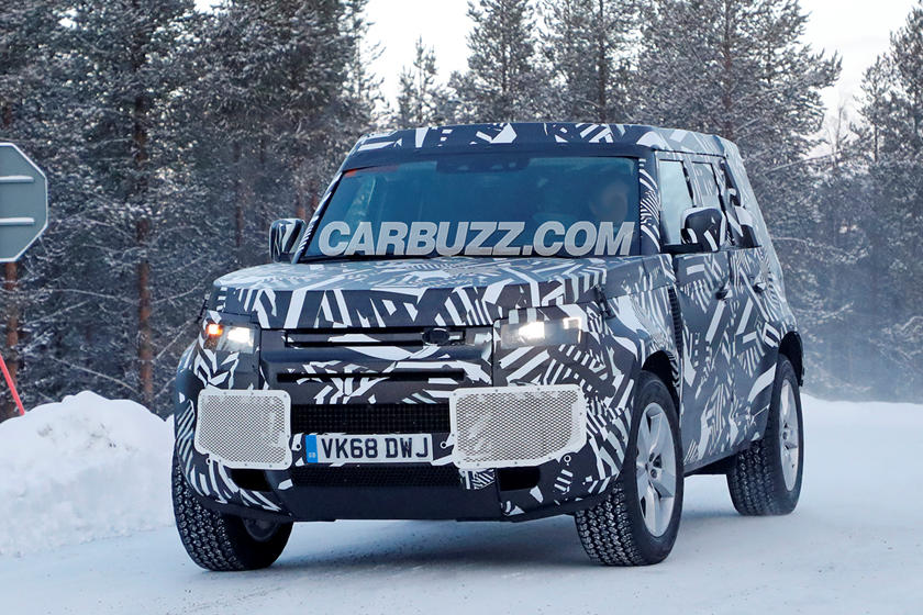 Leaked: New Land Rover Defender Interior | CarBuzz