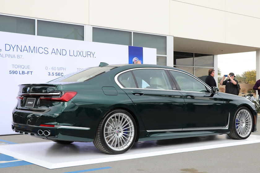2020 Alpina B7 Xdrive Arrives As The Ultimate 7 Series Carbuzz