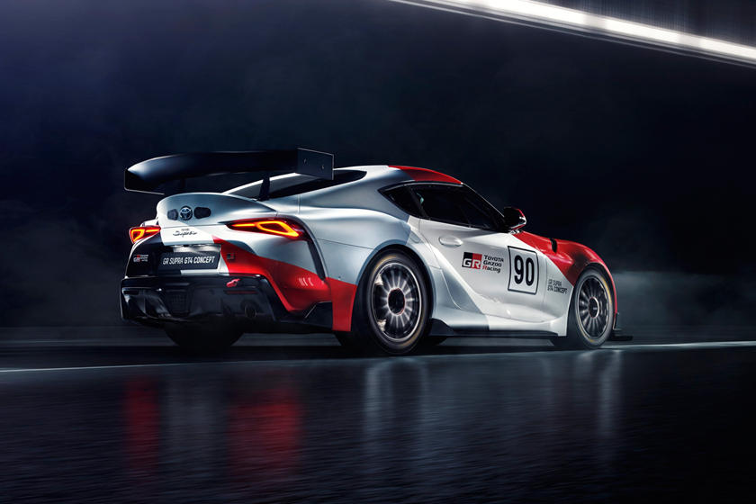 Toyota Reveals Yet Another Supra Race Car Concept   CarBuzz
