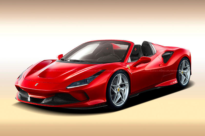 Ferrari F8 Tributo Spider Is Only A Matter Of Time Carbuzz