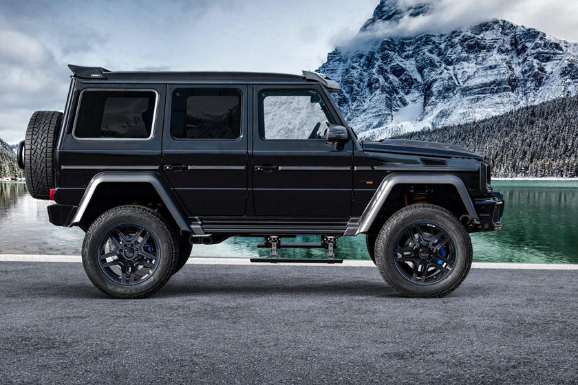 Brabus Gives The Old Mercedes G-Class An 800-HP Send-Off ...