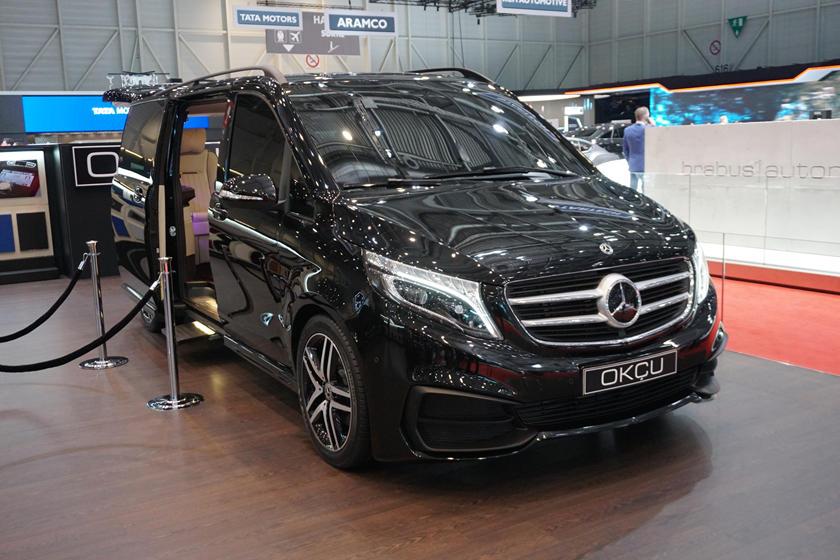 okcu automotive mercedes v class is a van fit for a king carbuzz okcu automotive mercedes v class is a
