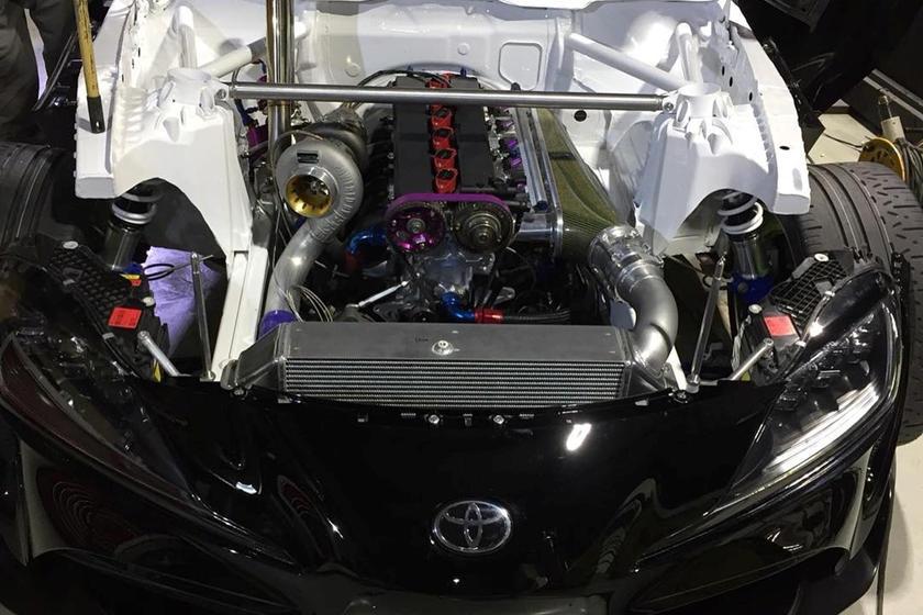 2020 Toyota Supra Gets An 800-HP 2JZ Engine Swap | CarBuzz