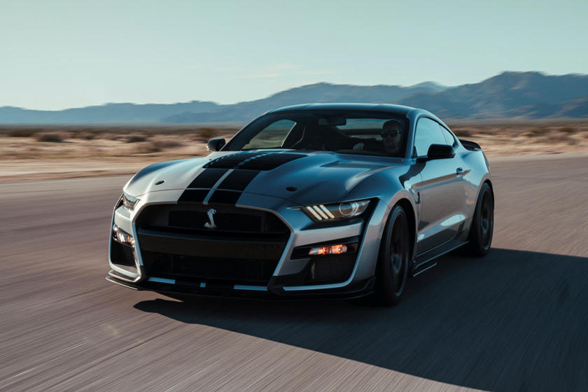 2020 Ford Mustang Shelby Gt500 Gets New Retro Inspired