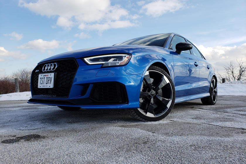 2019 Audi Rs3 Test Drive Review Four Doors One Ripping Ride Carbuzz