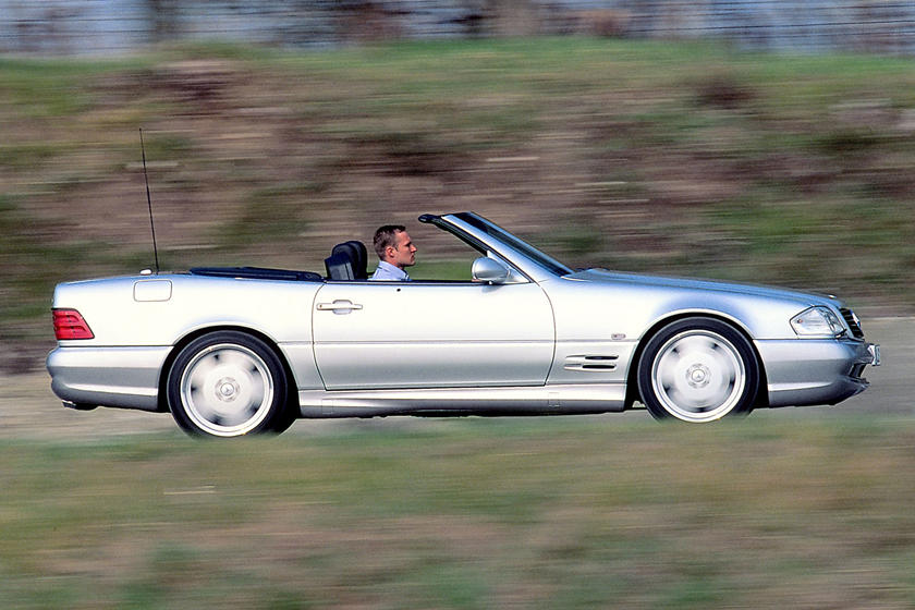 The Boxy R129 Mercedes Sl Is A 90s Classic Carbuzz