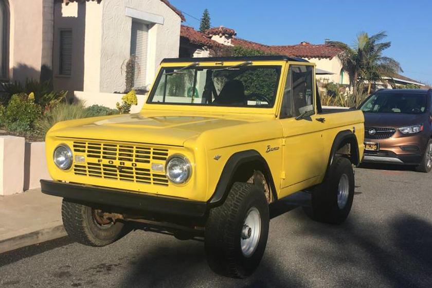 Weekly Craigslist Hidden Treasure: 1968 Ford Bronco | CarBuzz