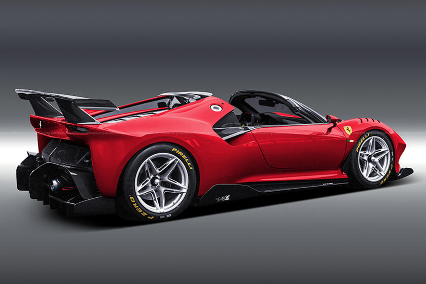Ferrari Will Never Build This Stunning Spider Carbuzz