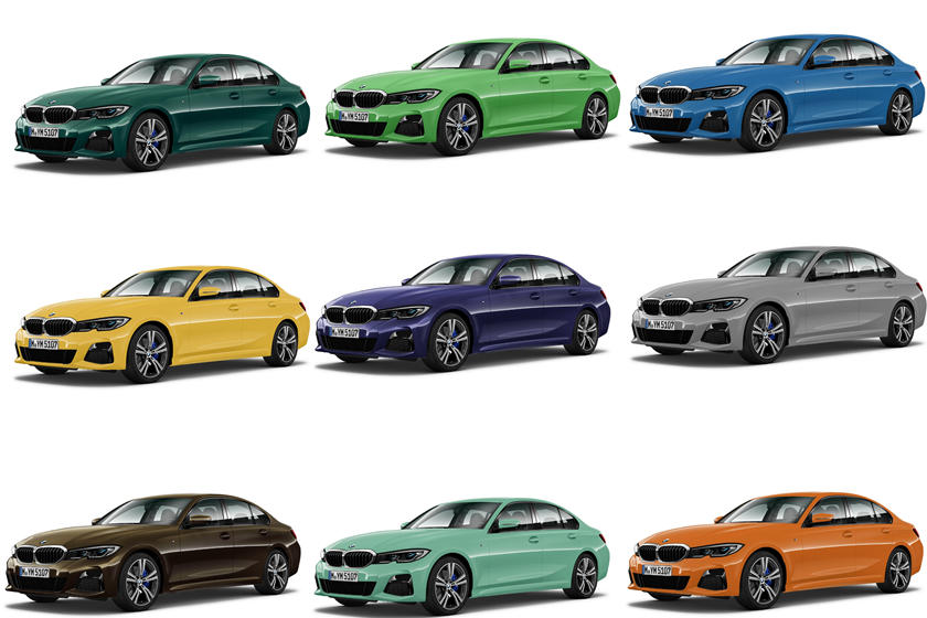check out the awesome individual paint colors for the bmw 3 series