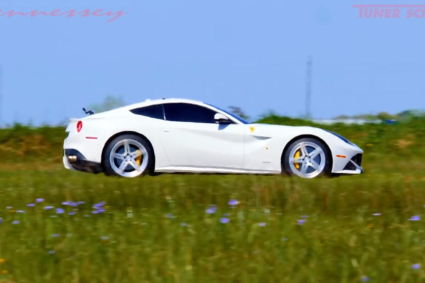 Hennessey Working On 800 Hp Ferrari F12 Carbuzz