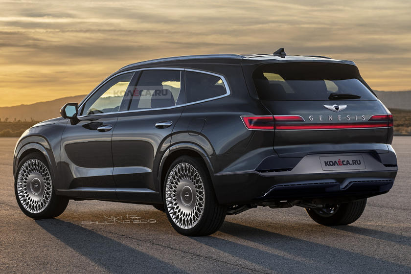 2020 Genesis GV80: News, Design, Release >> The Genesis Gv80 Will Be One Sexy Looking Suv Carbuzz