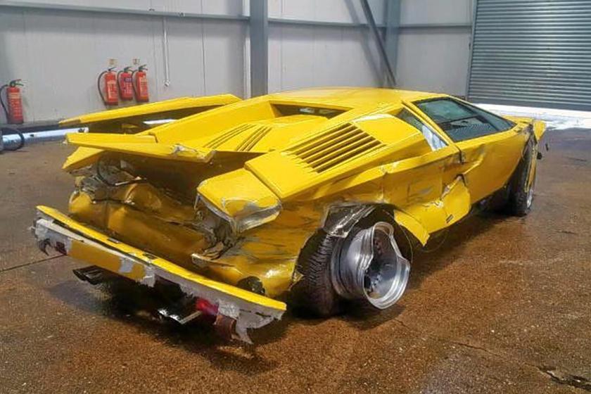 This Lamborghini Countach Had A Terrible Day