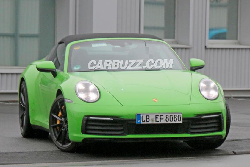 Take A First Look At The New Porsche 911 Targa Carbuzz