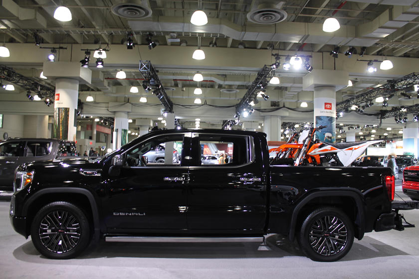 GMC Tested Sierra CarbonPro Bed By Hitting It With A