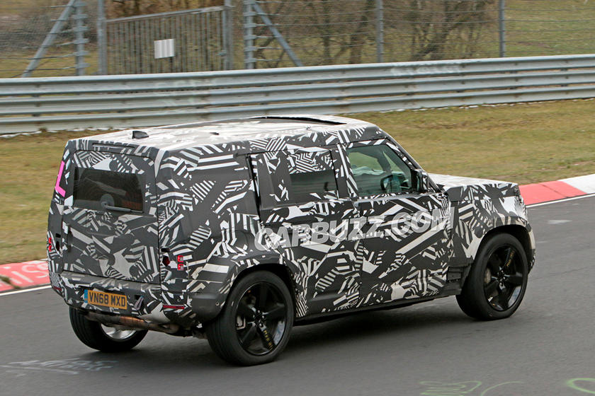 This Is When The New Land Rover Defender Will Debut   CarBuzz